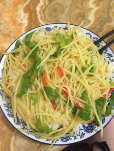 Bamboo Shoots with Peppers