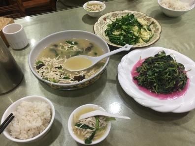 Boiled Tofu, Egg, Stick Vegetables