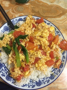 Traditional Chinese Dish: Egg and Tomato